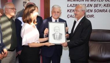 CHP Genel Başkanı Kılıçdaroğlu Burhaniye'de