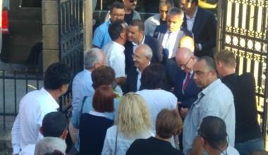 CHP Genel Başkanı Kılıçdaroğlu Gömeç'te
