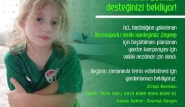 Cumhurbaşkanı Erdoğan'dan Bursalı minik Zeynep'e ilaç müjdesi