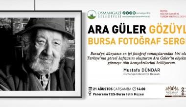 """Fetih Müzesi'nde """"Ara Güler Fotoğraf Sergisi"""""""