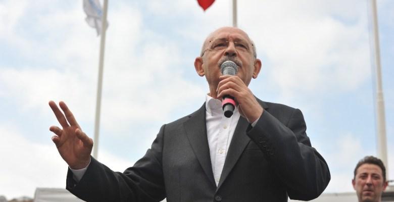 Kılıçdaroğlu Bandırma'da halka hitap etti