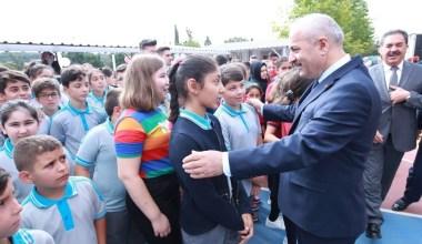 Başkan Büyükgöz, öğrencilerin heyecanlarına ortak oldu
