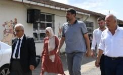Başkan Kocaman Eşme'de okullarda incelemelerde bulundu