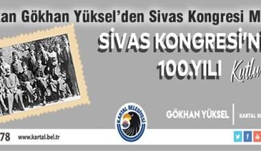 Başkan Yüksel'den Sivas Kongresi'nin 100. yılı mesajı