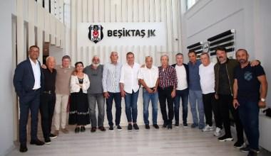 Beşiktaş efsanelerinden Abdullah Avcı'ya ziyaret