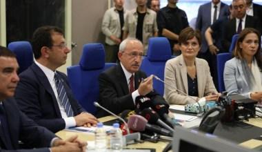 CHP Genel Başkanı Kılıçdaroğlu'ndan AKOM'a ziyaret