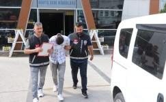 Evindeki bozulunca televizyon çalan hırsız İstanbul'da yakalandı