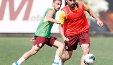 Galatasaray, Kasımpaşa maçının hazırlıklarını sürdürdü