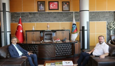 Milletvekili Uncuoğlu'ndan, Başkan Alemdar'a ziyaret