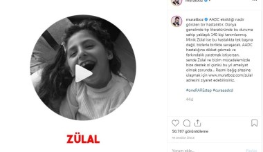 Minik Zülal için ünlü sanatçı Murat Boz'dan yardım çağrısı