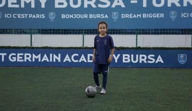 Parıs Saint-Germain Academy Bursa kız futbolcu seçmeleri