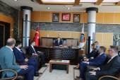 Sırbistan Boşnak Milli Konseyi Başkanı Dr. Jasmina Curic, Başkan Alemdar'a ziyaret