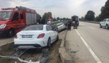 Su kanalına uçan araçta hayatını kaybetti