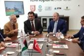 Bakan Varank, Kuveytli mevkidaşı Al-Roudan'ı Teknopark İstanbul'da ağırladı