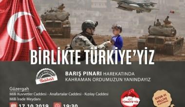 Balıkesir, Barış Pınarı'na dev desteğe hazırlanıyor