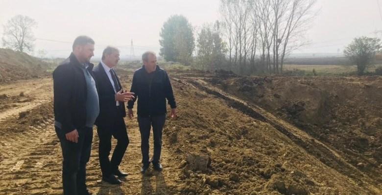 Başkan Alemdar, Gökçeören Ovası'nda devam eden çalışmaları inceledi