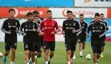 Beşiktaş'ta MKE Ankaragücü maçı hazırlıkları sürüyor