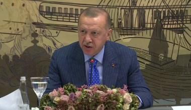 """Cumhurbaşkanı Recep Tayyip Erdoğan, """"Ülkemizi ekonomik yaptırımlar konusunda tehdit edenler, Türkiye'yi yolundan döndüremezler"""" dedi."""