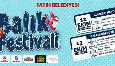 Fatih Belediyesi Balık Festivali başlıyor