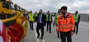 İstanbul Havalimanında kış hazırlıkları tamamlandı