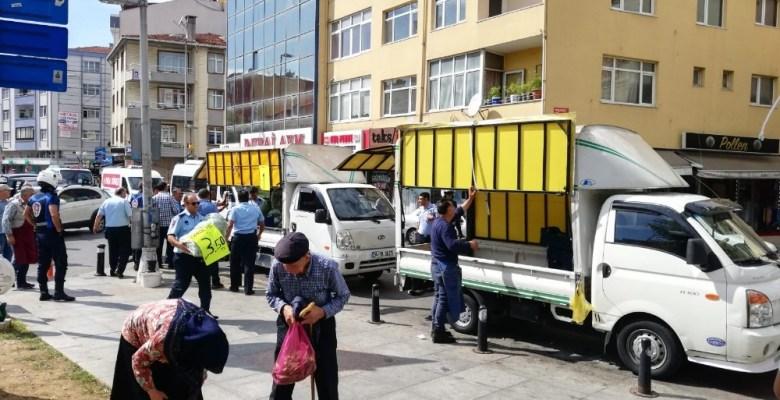 Kartal Zabıtası sokak işgallerine geçit vermiyor