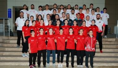 Ümit, genç ve 21 yaş altı Karate Milli Takımı Dünya Şampiyonası'na hazırlanıyor