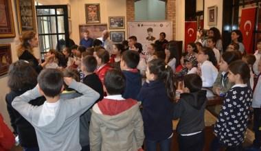 Atatürk Müzesine okullardan büyük ilgi