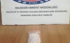 Balıkesir polisi 5 zehir tacirini yakaladı