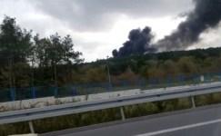 Çekmeköy'de askeri alanda çıkan orman yangını kontrol altına alındı