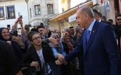 Cumhurbaşkanı Erdoğan, cuma namazını  Eyüpsultan Camii'nde kıldı