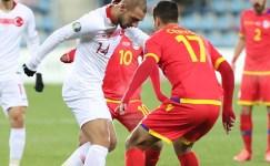EURO 2020 Elemeleri: Andorra: 0 – Türkiye: 2 (İlk yarı)