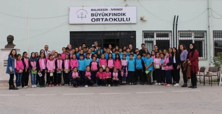 Geleceğin öğretmenlerinden okul ziyareti