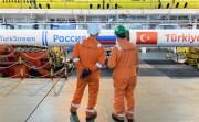 TÜRKAKIM ALIM TERMİNALİNİN YÜZDE 95'İ TAMAMLANDI (İHA/İSTANBUL-İHA) TürkAkım doğal gaz boru hattının Kıyıköy'de bulunan alım terminali inşaatının yüzde 95'i tamamlandı.