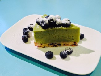 Avocado, Lime and coconut cheesecake (Gluten & Dairy free)
