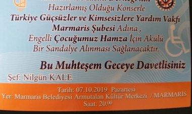 MARMARİS TÜRK SANAT MÜZİĞİ KORO KONSERİ/GÜÇSÜZLER DERNEĞİ ADINA
