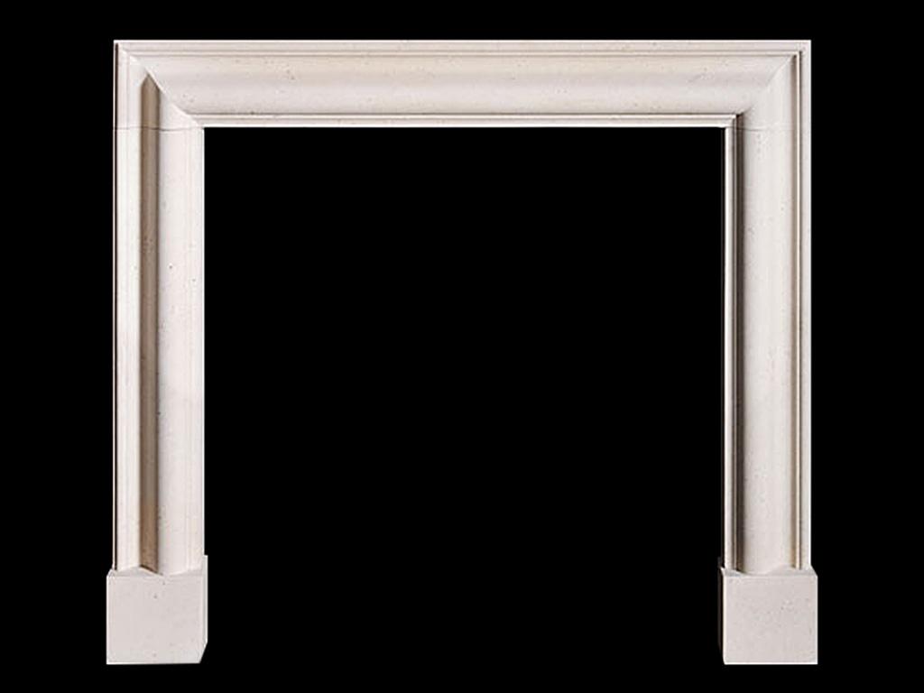 Reproduction Limestone Fireplace Surround