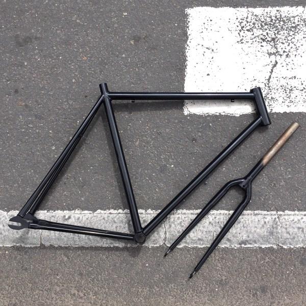 marco acero bici fixed
