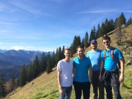 The boys at the Sonnberg Alm