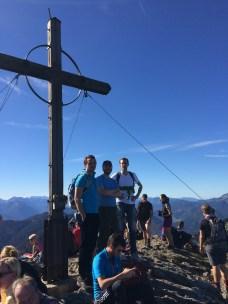 On the Roßstein (1, 698 m)