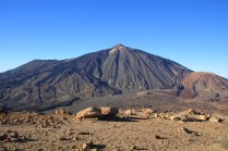 The Pico del Teide from the summit of the Guajara