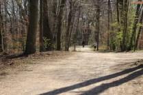 Walking on the left bank towards Flaucher