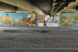 Graffiti at Brudermühlbrücke