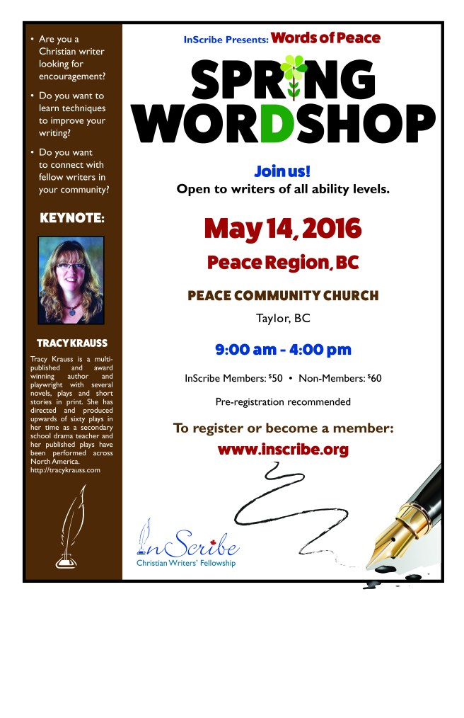WorDshop poster Peace Region