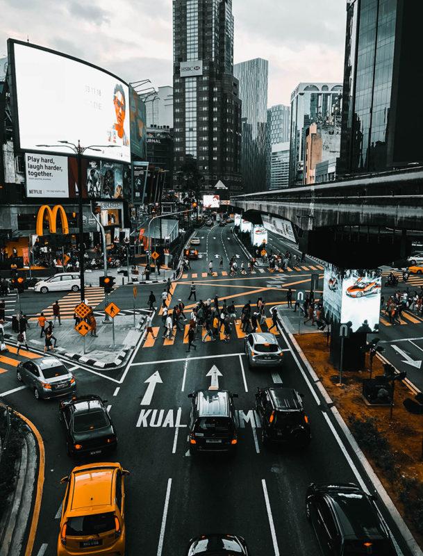 droga miasto Kuala Lumpur
