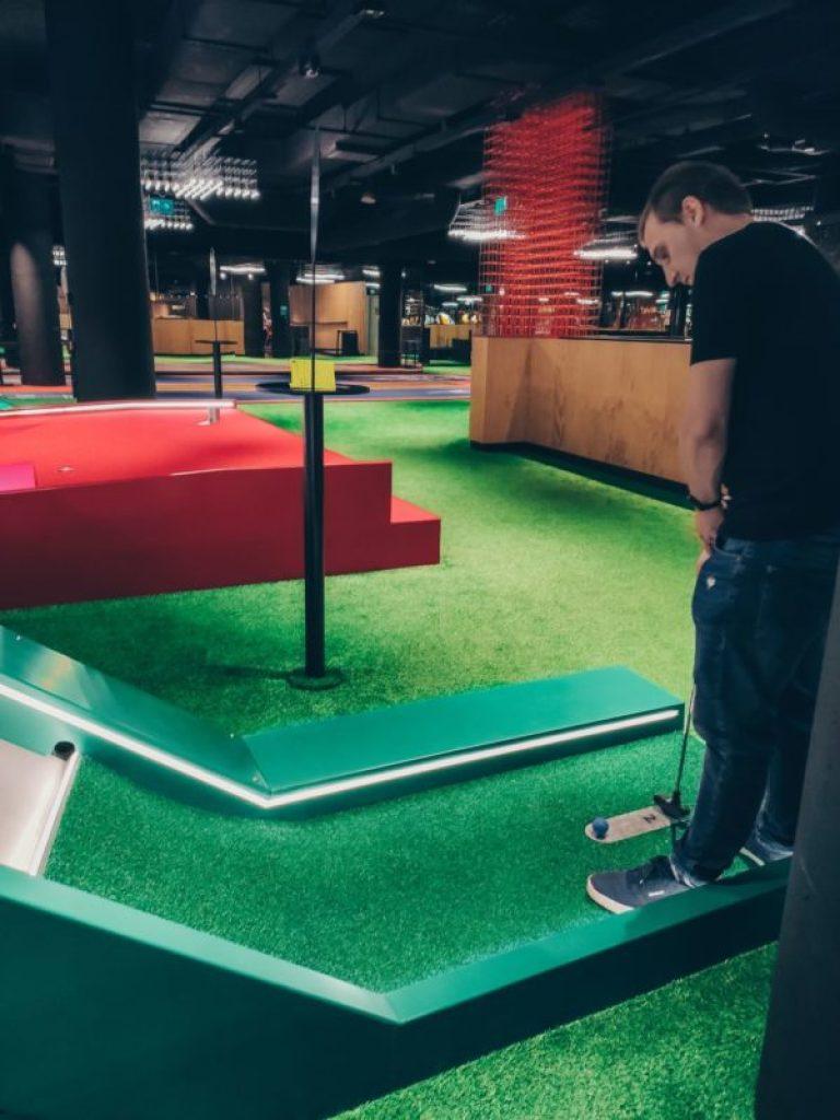 crazy golf Warszawa