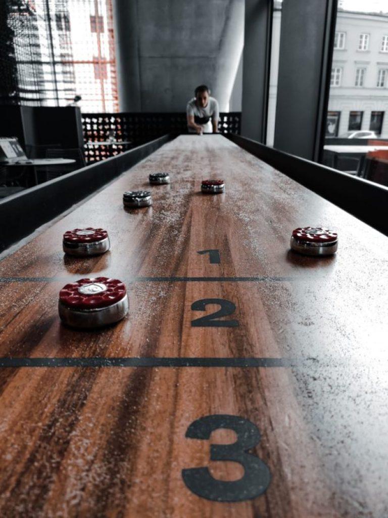 Table shuffleboard warszawa