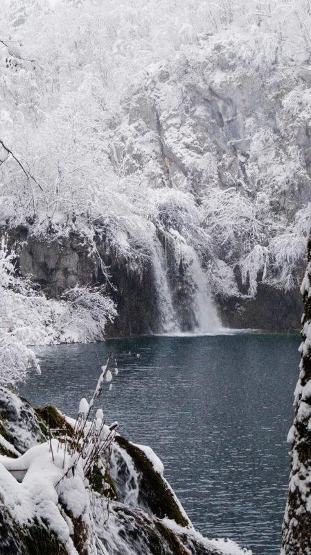 jeziora plitiwckie zima