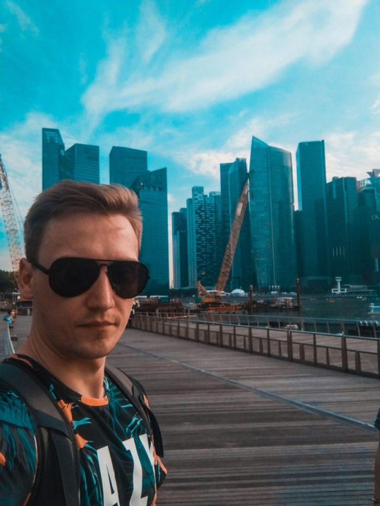 Singapur podróż