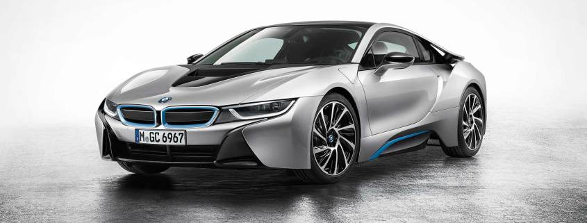 BMW i8 Electric Car