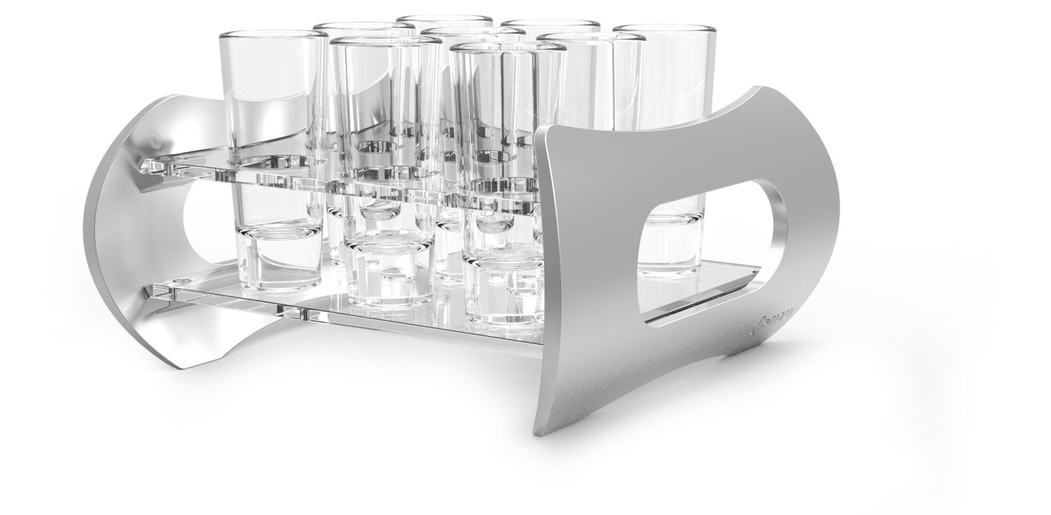 Shot Glass Holder - 9 Shots